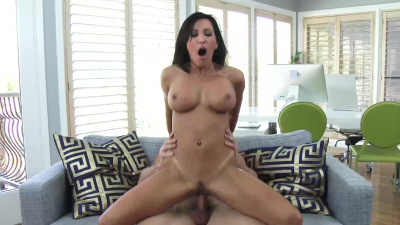 Lezley Zen suck & fuck hard her son's hunky friend