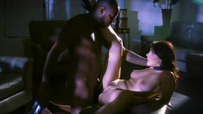 Escort Valentina Nappi doing striptease & getting fucked by bbc