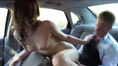 Certified nubile Kasey Warner totally into cab driver