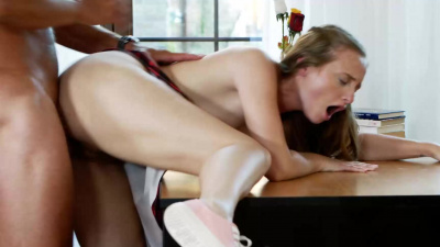 Sweet babe Lady Bug fucks her teacher