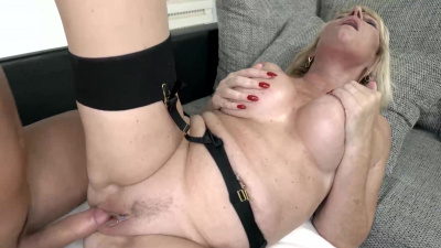 Rosemary busty granny meets her lover and has passionate sex with him