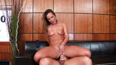 Jada Stevens has the unique talent of loving to take in right in the ass