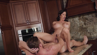 Wealthy milf Alexis Fawx gets all the youthful juice out of young traveller