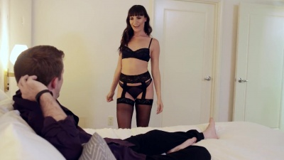 Fuck & dripping cum in cock hungry cam girl Dana Dearmond's mouth