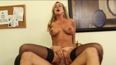 Professor Brandi Love wants her student's big dick up her ass