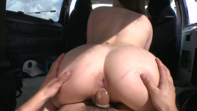 Miami beauties Abby Cross and Nickey Huntsman picked up and fucked in the bang van