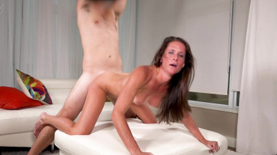 Sofie Marie brings along her husband to watch her get fucked on camera