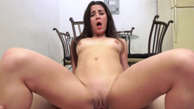 Kylie Rocket takes a break from her busy day to pop her pussy on fat dick