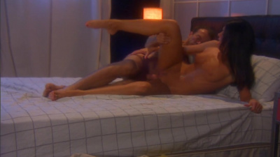 India Summer receives a cum shower all over her trimmed pussy