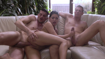 Annie Wolf needs two dicks to get off